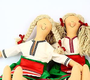 Български кукли от плат